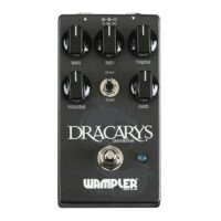 Wampler Dracarys Distortion Drive Effectpedal