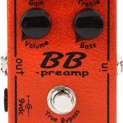 Xotic BB Preamp Overdrive Pedal Made in USA NEW