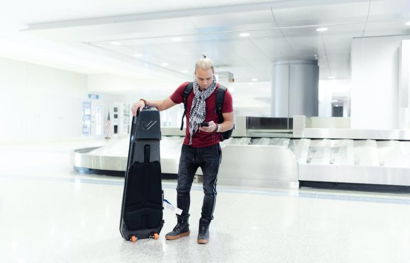 Kapsule - World's Most Advanced Travel Guitar Bag - Brand New - Totally Unused