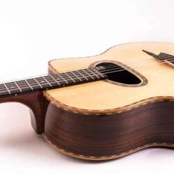 "Anton Sandner Maccaferri Gipsy Jazz-Gitarre mit ""Grande Bouche"""