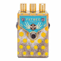 Beetronics Fatbee Blue Gold Analog Overdrive Limited Edition Nr.1 of 7