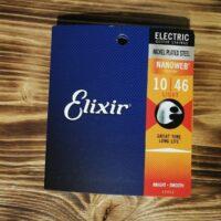 Elixir 12052, 10-46 Electric Guitar Strings, Nanoweb Coating