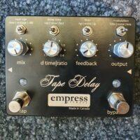 empress effects Tape Delay Matt/Schwarz