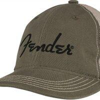 Fender Embroidered Logo Soft Mesh Hat