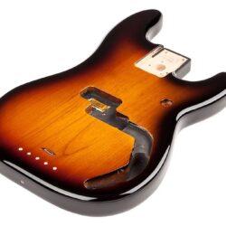 Fender Genuine Replacement Part Precision Bass body, Brown Sunburst