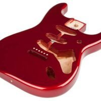 Fender Genuine Replacement Part Stratocaster body (vintage bridge), Candy Apple Red