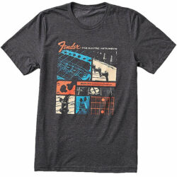 Fender Jaguar® T-Shirt Dark Gray