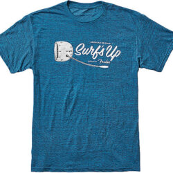 Fender Surf´s up T-Shirt L.Pl. blue