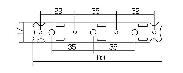 Gotoh 35G-620 classical guitar tuners 3L3R gold