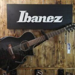 Ibanez AEWC400 TKS Transparent Black Sunburst Acoustic Guitar