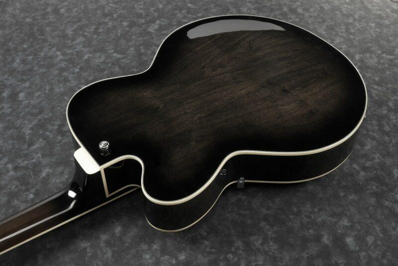 Ibanez AFB200-TKS Artcore Full-Hollow Bass 4 String Transparent Black Sunburst