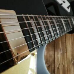 Ibanez AG85-BKF Hollowbody Guitar String Black Flat