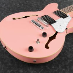 Ibanez AS63-CRP Artcore Vibrante 6 String Coral Pink
