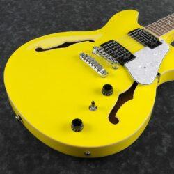 Ibanez AS63-LMY Artcore Hollowbody Guitar 6 String Lemon Yellow