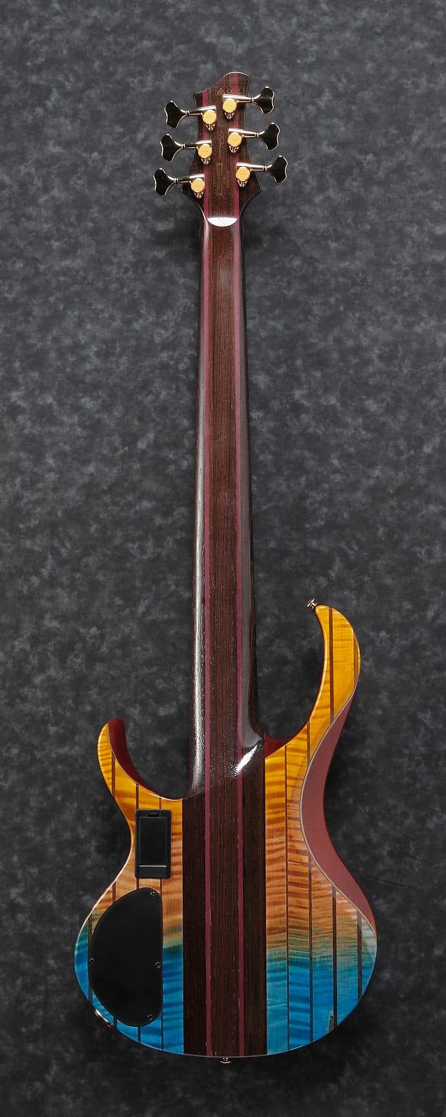Ibanez BTB Premium Series E-Bass 6 String Sunset Fade Low Gloss + Bag