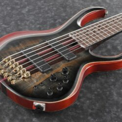 Ibanez BTB1906SM-SKB Premium Series E-Bass 6 String Surreal Black Burst Flat + Bag