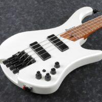 Ibanez EHB1000-PWM EHB Series E-Bass 4 String Pearl White Matte + Gigbag, PRE-ORDER!