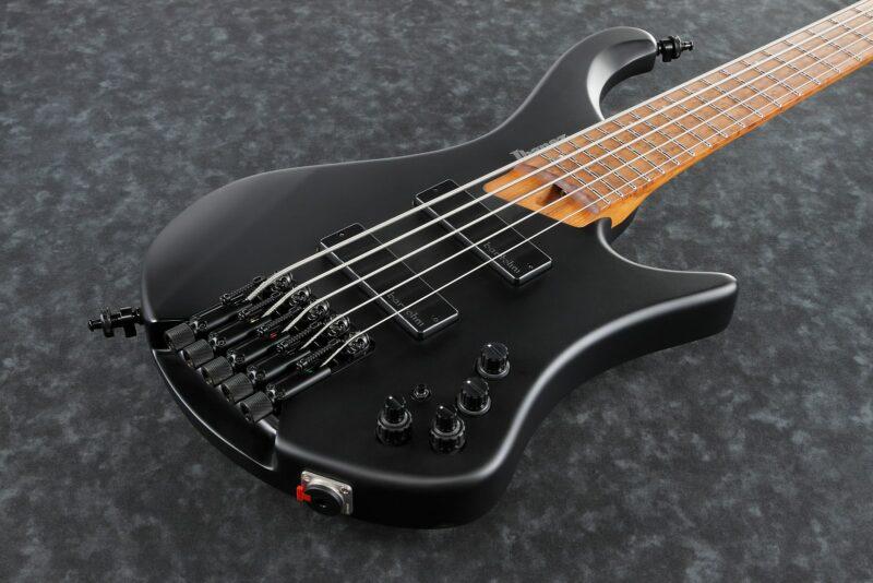 Ibanez EHB1005-BKF EHB Series E-Bass 5 String Black Flat + Gigbag, PRE-ORDER!