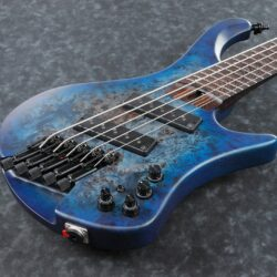 Ibanez EHB1505MS-PLF EHB Series E-Bass 5 String Multiscale Pacific Blue Burst + Gigbag, PRE-ORDER!