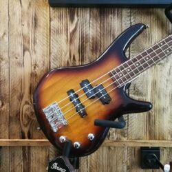 "Ibanez GSRM20-BS GIO miKro 28.6"" E-Bass 4 String - shortscale Brown Sunburst"