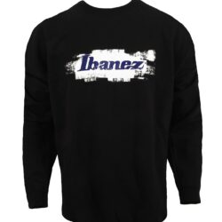 Ibanez ISB-XXL Ibanez Merchandise Sweater black with white/ blue print