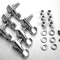 Ibanez MB500C machine head set 6 x set chrome