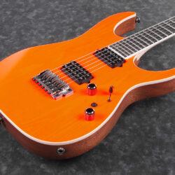 Ibanez RGR5221-TFR RG Prestige Series E-Guitar 6 String Transparent Fluorescent Orange + Case