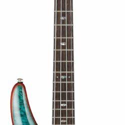 Ibanez SR2400-CGL SR Premium Series E-Bass 4 String Caribbean Green Low Gloss + Bag