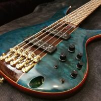 Ibanez SR2405W-CGL Premium E-Bass 5 String Caribbean Green Low Gloss + Premium Softcase