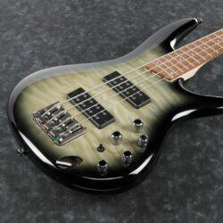 Ibanez SR400EQM-SRG E-Bass 4 String Sureal Black Burst Gloss