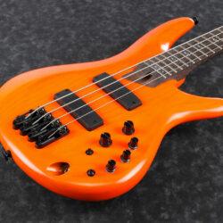 Ibanez SR4600-OSL SR Series E-Bass 4 String Orange Solar Flare + Case