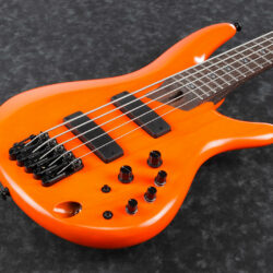 Ibanez SR4605-OSL SR Series E-Bass 5 String Orange Solar Flare + Case