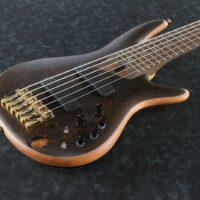 Ibanez SR5006-OL Prestige Made in Japan E-Bass 6 String Oil incl. Case
