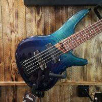 Ibanez SR875 BRG 5 String Bass Blue Reef Gradation