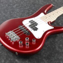 "Ibanez SRMD200-CAM ""Mezzo"" 32"" Scale E-Bass 4 String Candy Apple Matte"