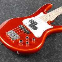 "Ibanez SRMD200-ROM ""Mezzo"" 32"" Scale E-Bass 4 String Orange Metallic"