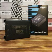 Klotz DX10 passive DI-box