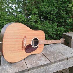 Martin Guitars D-X2E-04 Macassar Natural
