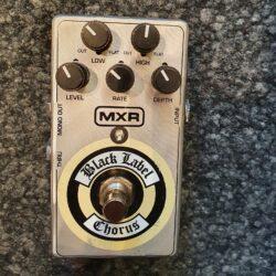 MXR Black Label Chorus Matt/Silber