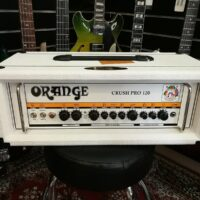 Orange Crush Pro CR120H Guitar Amp White, Limited Edition!