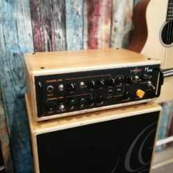 Ortega Acoustic Amplification-Bundle acoustic guitar head 2 channel 100W RMS + 2 Speakers + Bags