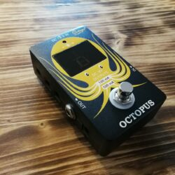 Ortega OCTOPUS Pedal Tuner and Power Plat Incl. 8x DC Power Cable, 1x 18V Power Supply and 1x polari