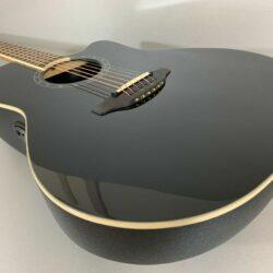 Ovation Standard Balladeer 2771AX 5 Black Deep Contour Cutaway Westerngitarre