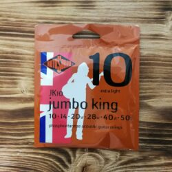 Rotosound JK10, Jumbo King Extra Light Acoustic Guitar Strings, 10-50