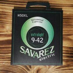 Savarez H50XL, Electric Guitar Strings, 009 - 042
