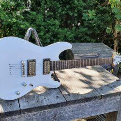 SCHECTER E-Gitarre, C-6 Deluxe, Satin White