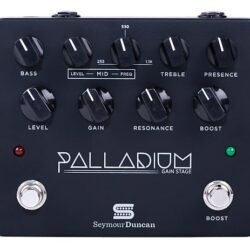 Seymour Duncan Palladium (Black) - Gain Stage / Overdrive / Boost