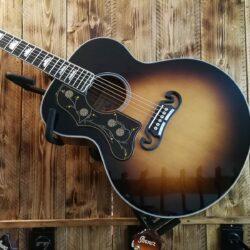 Sigma GJA-SG200L+ Jumbo Acoustic Guitar Lefthand, Fishman Preamp