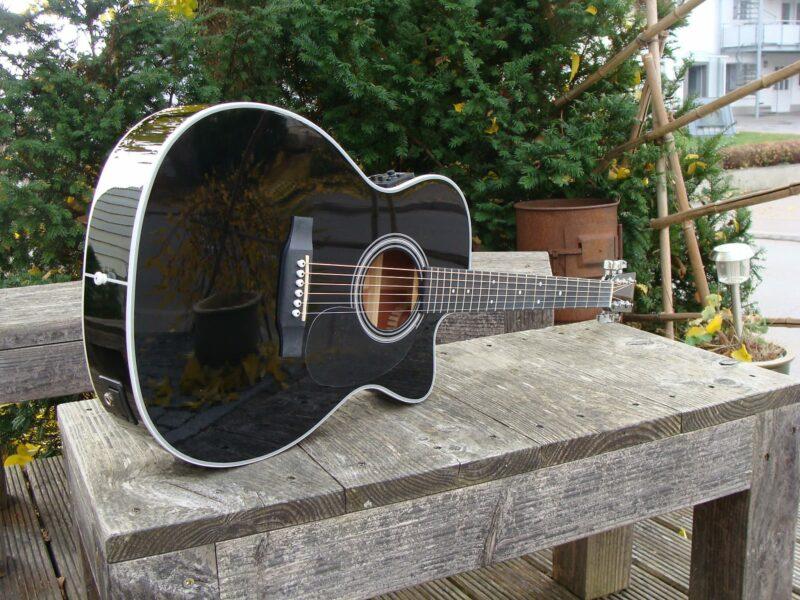 Sigma Guitars 000MC-1STE-BK+