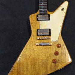 Sonicguitars Explorer Korina 1958 aged replica on request 2020 nat yellow